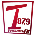 Logo da emissora Rádio Ipanema 87.9 FM