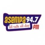 Logo da emissora Radio Asempa 94.7 FM