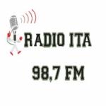 Logo da emissora Rádio Ita 98.7 FM