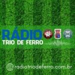 Logo da emissora Rádio Trio de Ferro