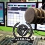 Logo da emissora Rádio Mr Falcão
