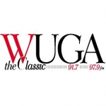 Logo da emissora Radio WUGA 91.7 FM