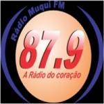 Logo da emissora Rádio Muqui 87.9 FM