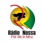 Logo da emissora Rádio Nossa 98.9 FM
