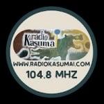 Logo da emissora Rádio Comunitária Kasumai 104.8 FM