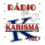 Logo da emissora Rádio Karisma FM