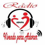 Logo da emissora Rádio Vivendo Para Adorar