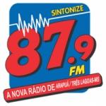 Logo da emissora Rádio Comunitária Estrela do Arapuá 87.9 FM