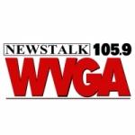 Logo da emissora WVGA 105.9 FM