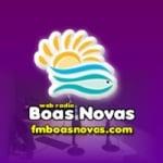 Logo da emissora Rádio Boas Novas