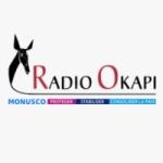 Logo da emissora Radio Okapi 103.5 FM