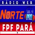 Logo da emissora Rádio Integração Norte FM