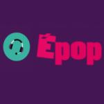 Logo da emissora Rádio É Pop