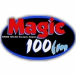 Logo da emissora Radio KWAW Magic 100.3 FM