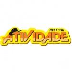 Logo da emissora Rádio Atividade 107.1 FM