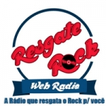 Logo da emissora Rádio Resgate Rock