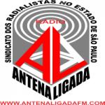 Logo da emissora Rádio Antena Ligada FM