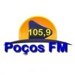 Logo da emissora Rádio Poços FM