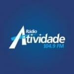 Logo da emissora Rádio Atividade 104.9 FM