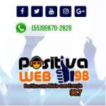 Logo da emissora Rádio Positiva Web 98