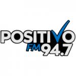 Logo da emissora Radio Positivo 94.7 FM