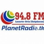 Logo da emissora Radio Planet 93.5 FM