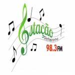 Logo da emissora Rádio Estação Pinheirinho 98.3 FM