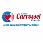 Logo da emissora Rádio Carrossel Portela