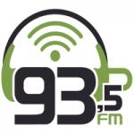 Logo da emissora Rádio 93.5 FM