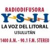 Radio La Voz del Litoral 1400 AM 90.1 FM