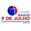 Rádio 9 de Julho 1600 AM